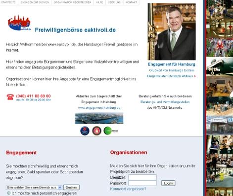 Freiwilligenbörse eaktivoli.de