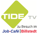 TIDE TV im Job-Cafè Billstedt