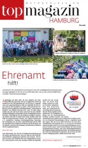 FreiwilligenBörseHamburg im TOP Magazin Hamburg
