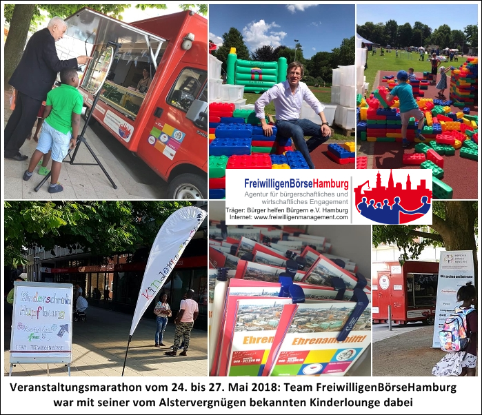 FreiwilligenBörseHamburg unterwegs für das Gemeinwohl