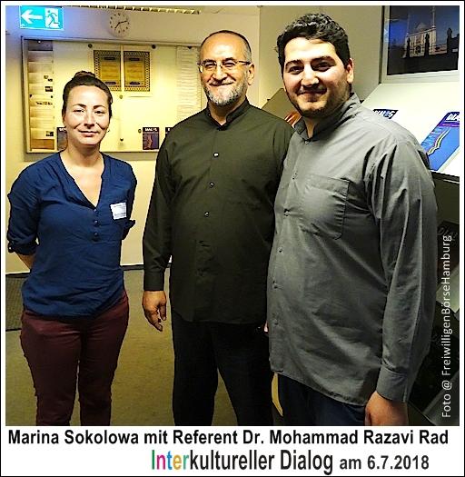 Team Interkultureller Dialog in Hamburg am 06.07.2018