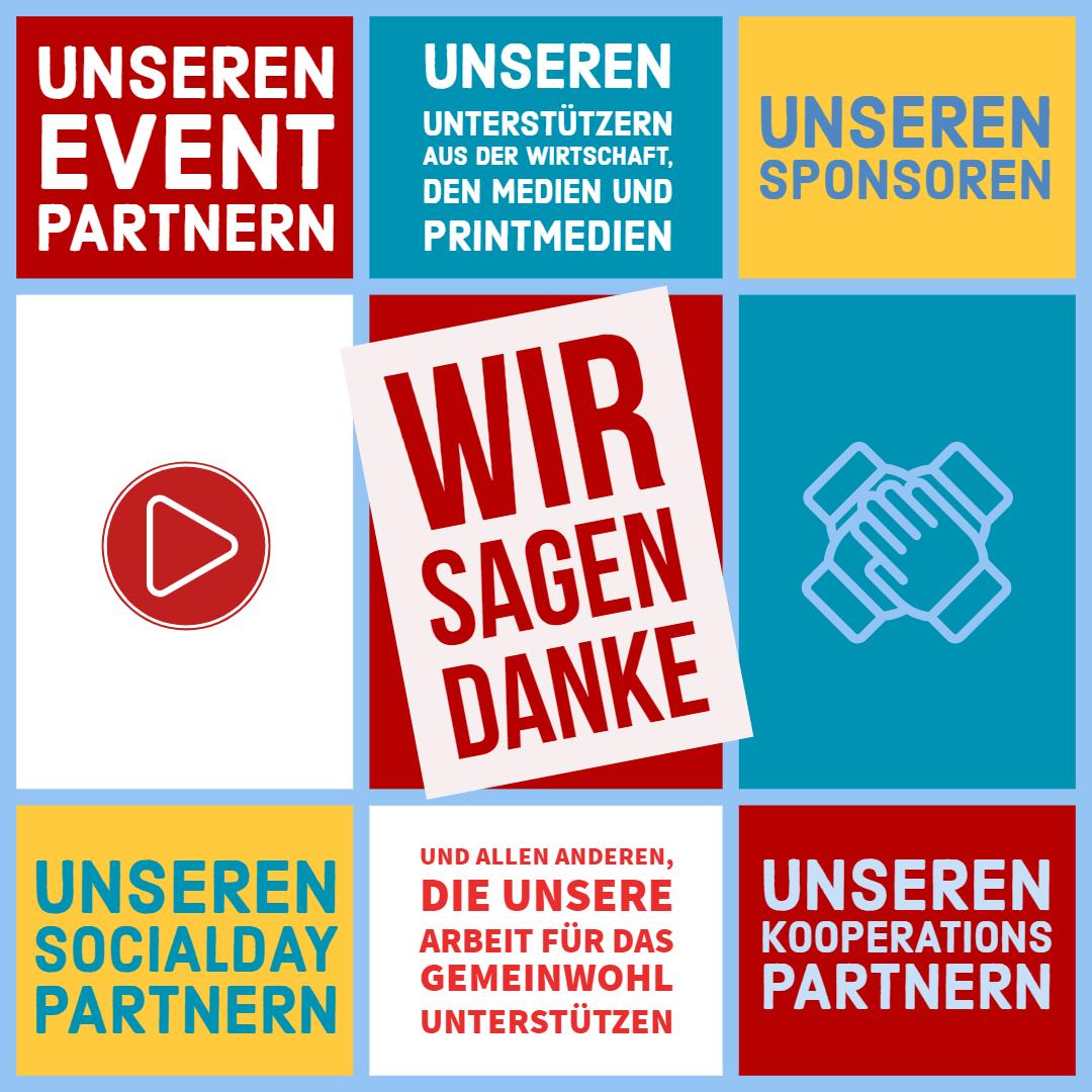 Team FreiwilligenBörseHamburg bedankt sich bei seinen Unterstützern