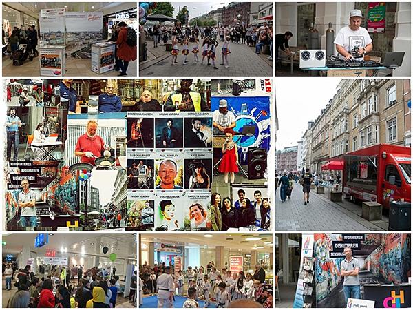 Team FreiwilligenBörseHamburg bringt Shopping, Ehrenamt, Kunst und Sport zusammen