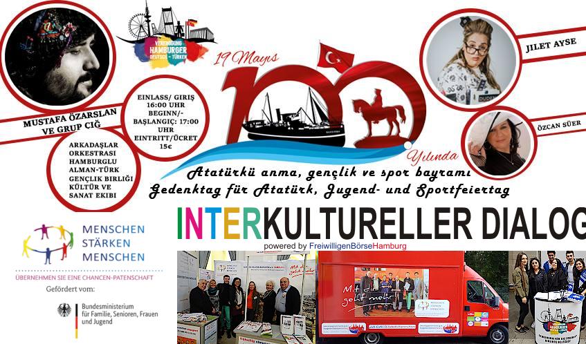 Interkultureller Dialog beim Jugend- und Sportfeiertag