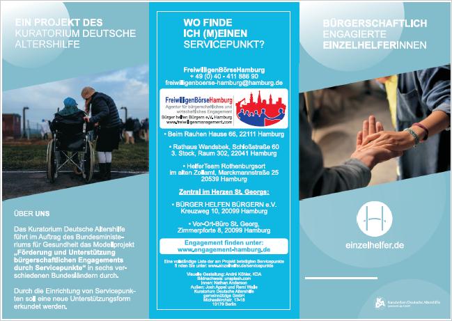 Nachbarschaftshilfe Hamburg: Einzelhelfer werden