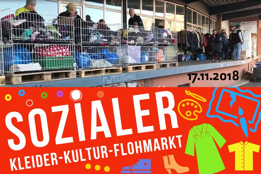 Sozialer Kleider-Kultur-Flohmarkt von HelferTeam Rothenburgsort