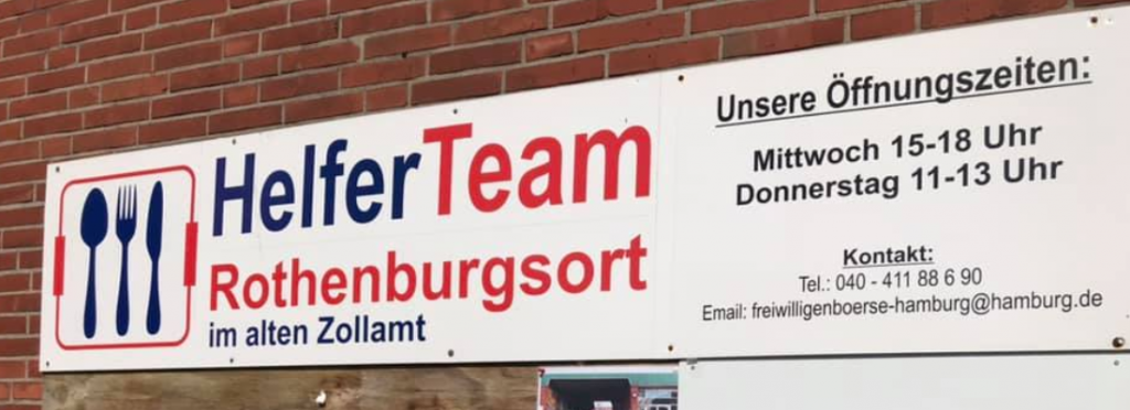 HelferTeam Rothenburgsort im Alten Zollamt Rothenburgsort