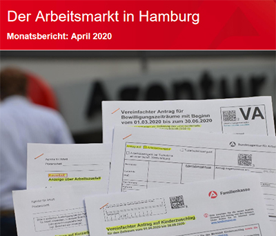 Arbeitsmarkt Hamburg April 2020