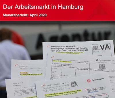 Arbeitsmarkt Hamburg April 2020