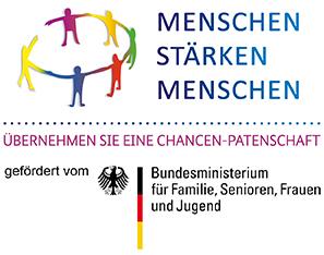 Menschen stärken Menschen, gefördert vom Bundesministeriums für Familie, Senioren, Frauen und Jugend