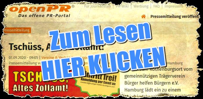 Abschiedskonzert im Alten Zollamt bei HelferTeam Rothenburgsort