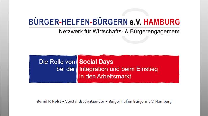 Die Rolle von Social Days bei der Integration und beim Einstieg in den Arbeitsmarkt