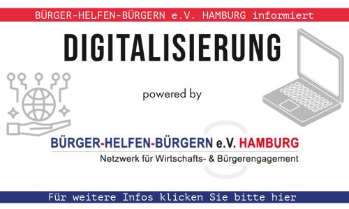 DIGITALISIERUNG: Bürger helfen Bürgern e.V. Hamburg informiert