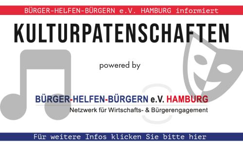 KULTURPATENSCHAFTEN: Bürger helfen Bürgern e.V. Hamburg informiert