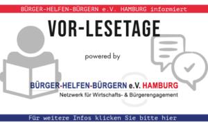 VOR-LESETAGE powered by Bürger helfen Bürgern e.V. Hamburg